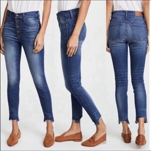 "Madewell Jeans | 10"" High Rise Skinny 